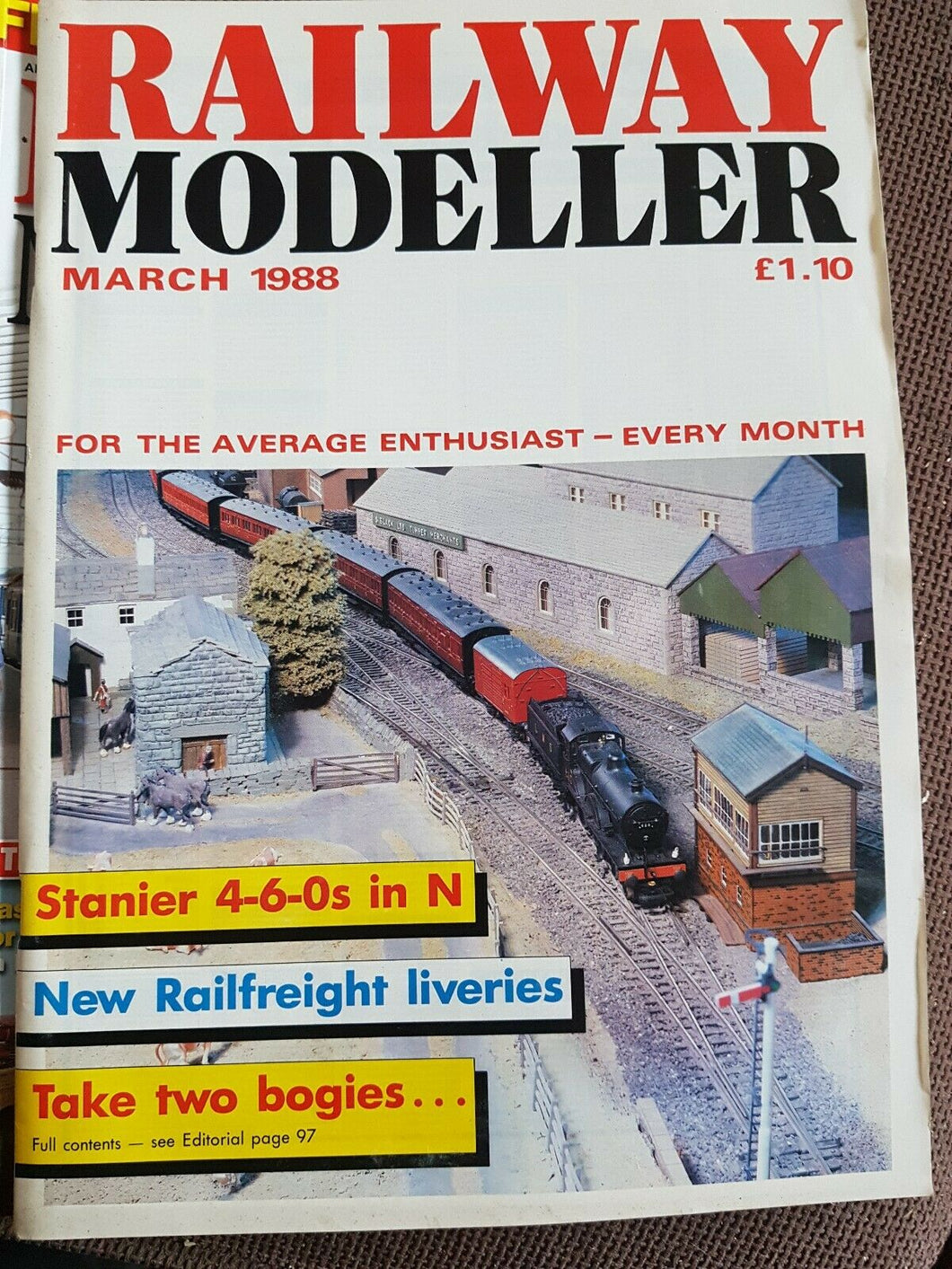 RAILWAY Modeller Magazine March 1988