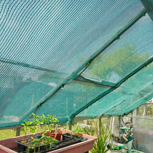 Sun Shade Screen, Green, 1.5m x 2m. Privacy, Conservatory. Greenhouse. Choose M
