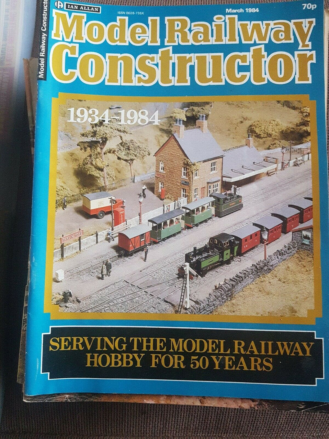 Model Railway Constructor Magazine Ian Allan. MARCH 1984