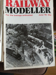 RAILWAY Modeller Magazine June 1978