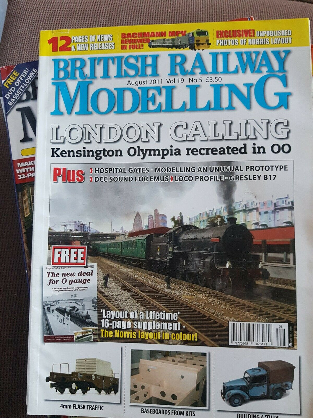 BRITISH RAILWAY MODELLING Magazine August 2011