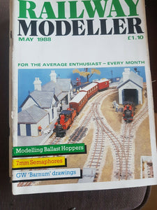 Railway modeller magazine May 1988