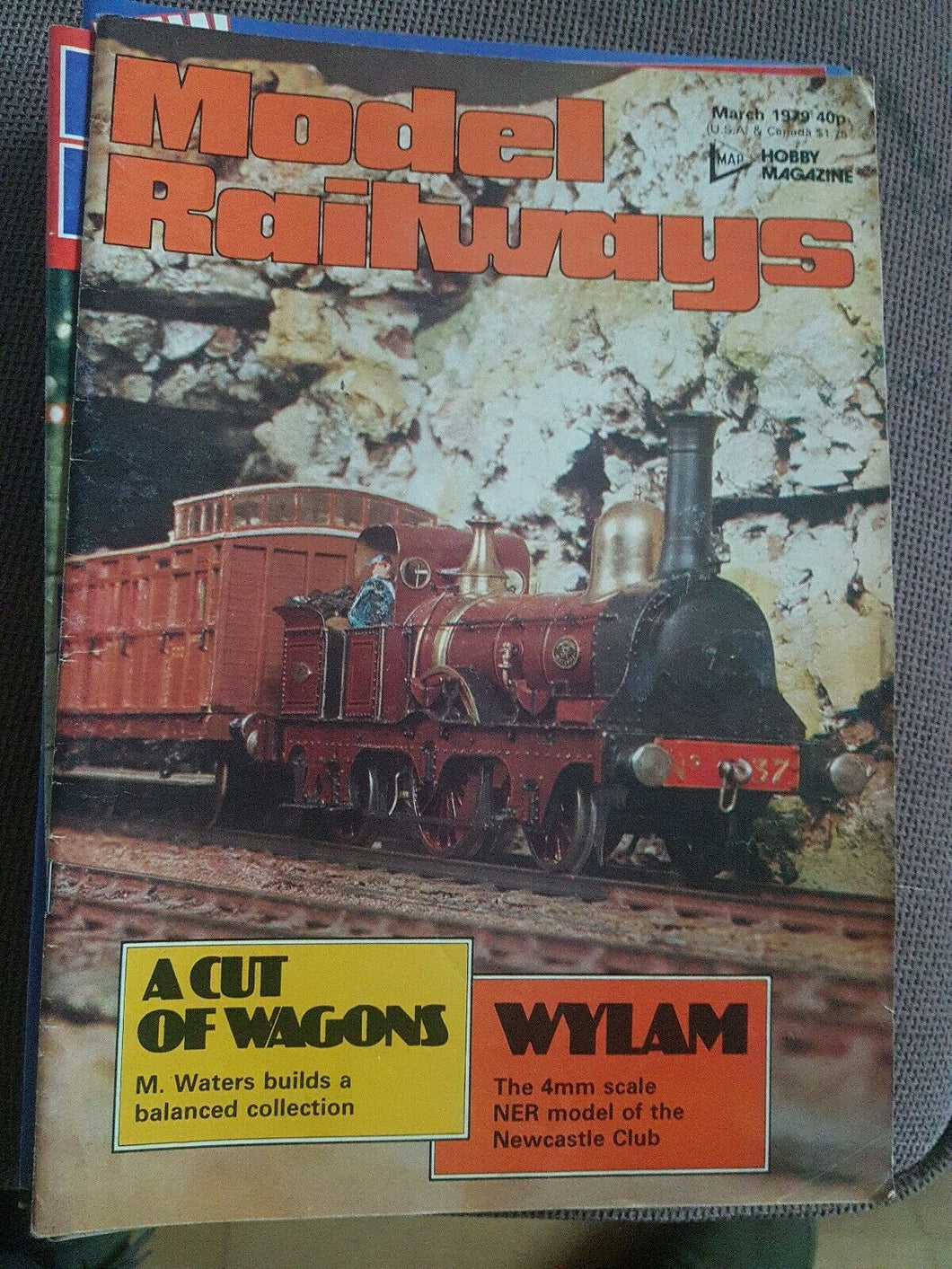 Model Railways Magazine - March 1979 VERY GOOD CONDITION.