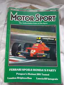 Motorsport December 1987 please see second image for contents