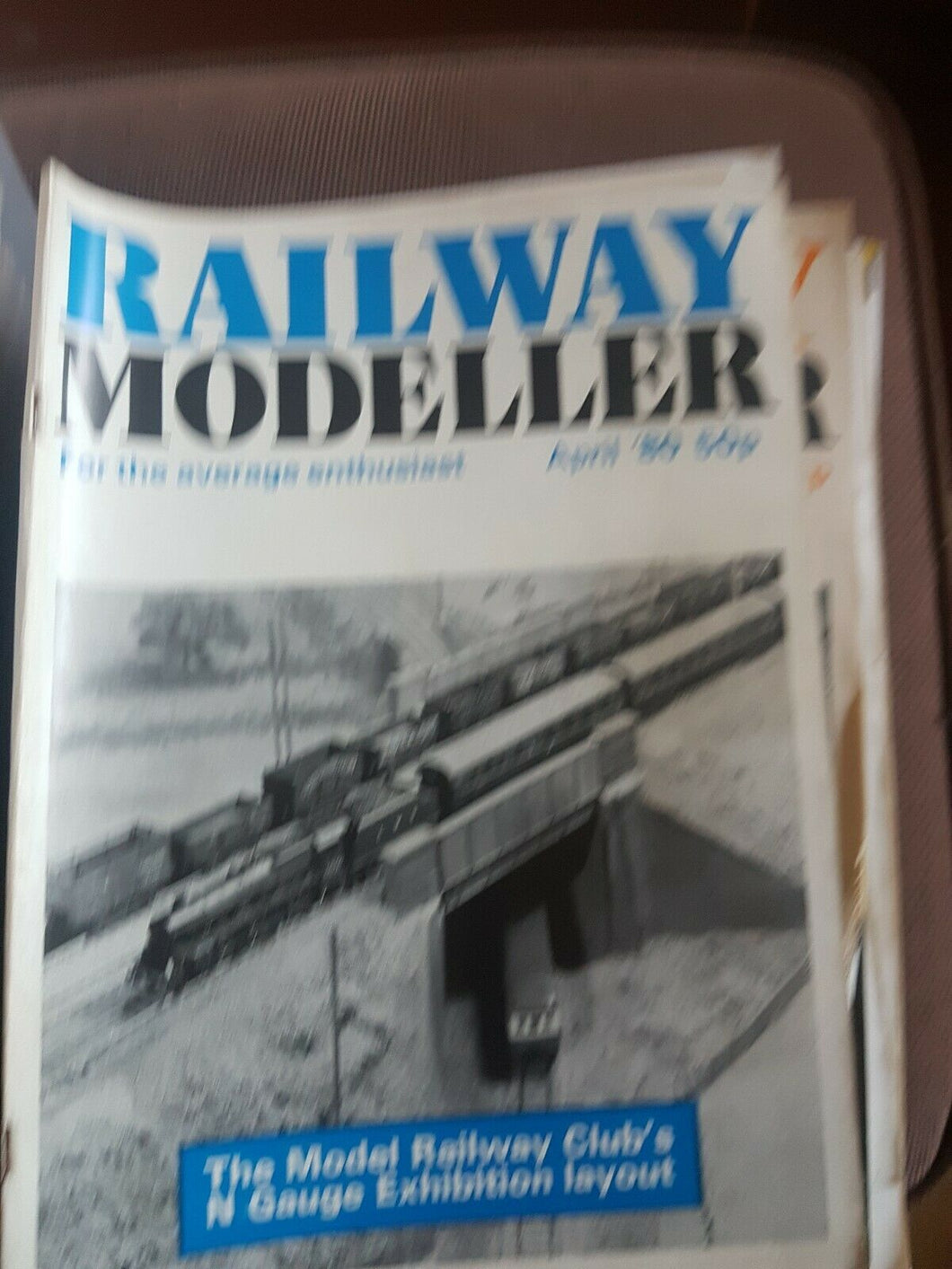 Railway modeller magazine April 1980