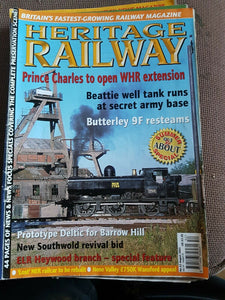 Heritage Railway Magazine No 52 August 2003