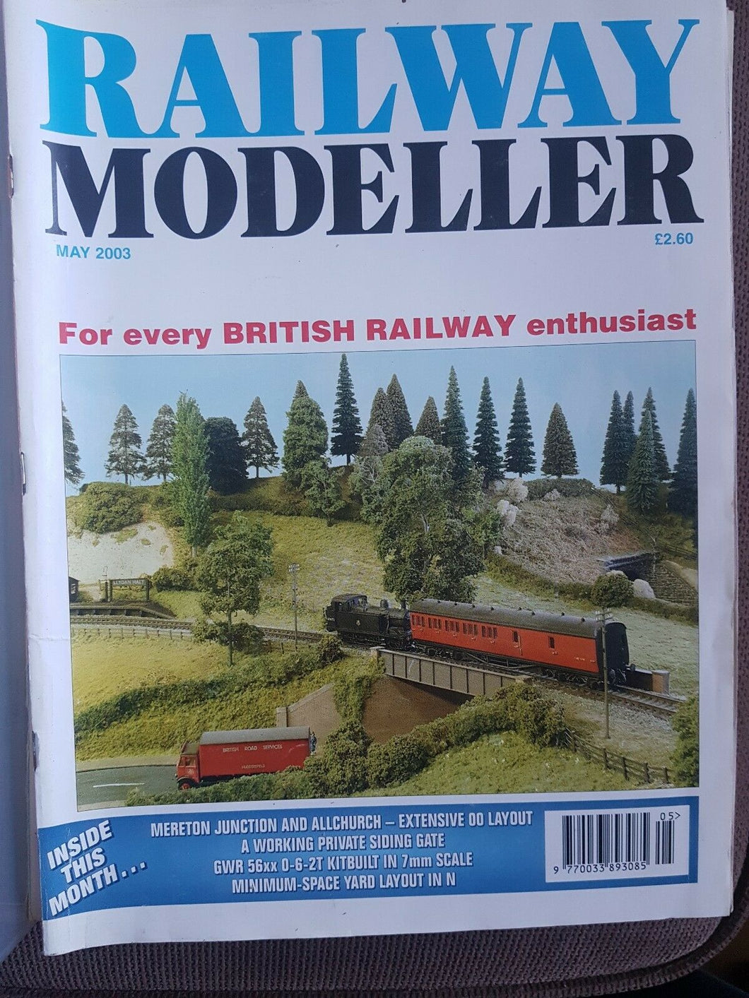 Railway modeller magazine May 2003