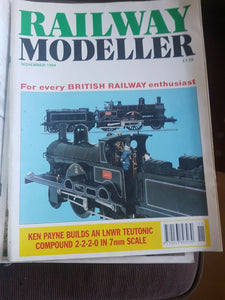 Railway modeller magazine November 1994