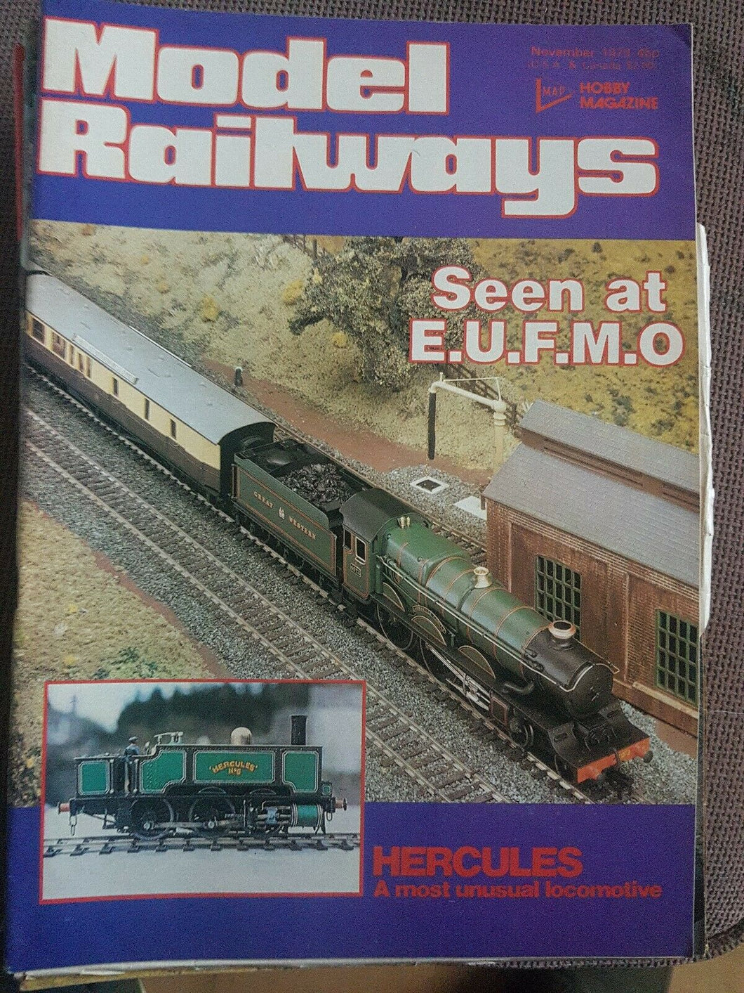 Model Railways Magazine - November 1979 VERY GOOD CONDITION.
