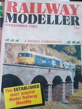 Load image into Gallery viewer, Railway modeller magazine December 1983 cover is marked.