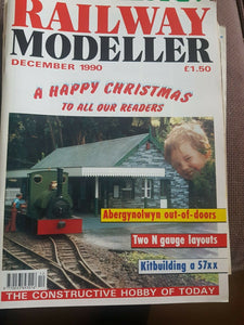 RAILWAY MODELLER Magazine December 1990