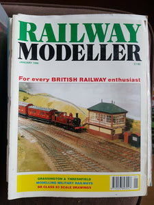 RAILWAY Modeller Magazine January 1996