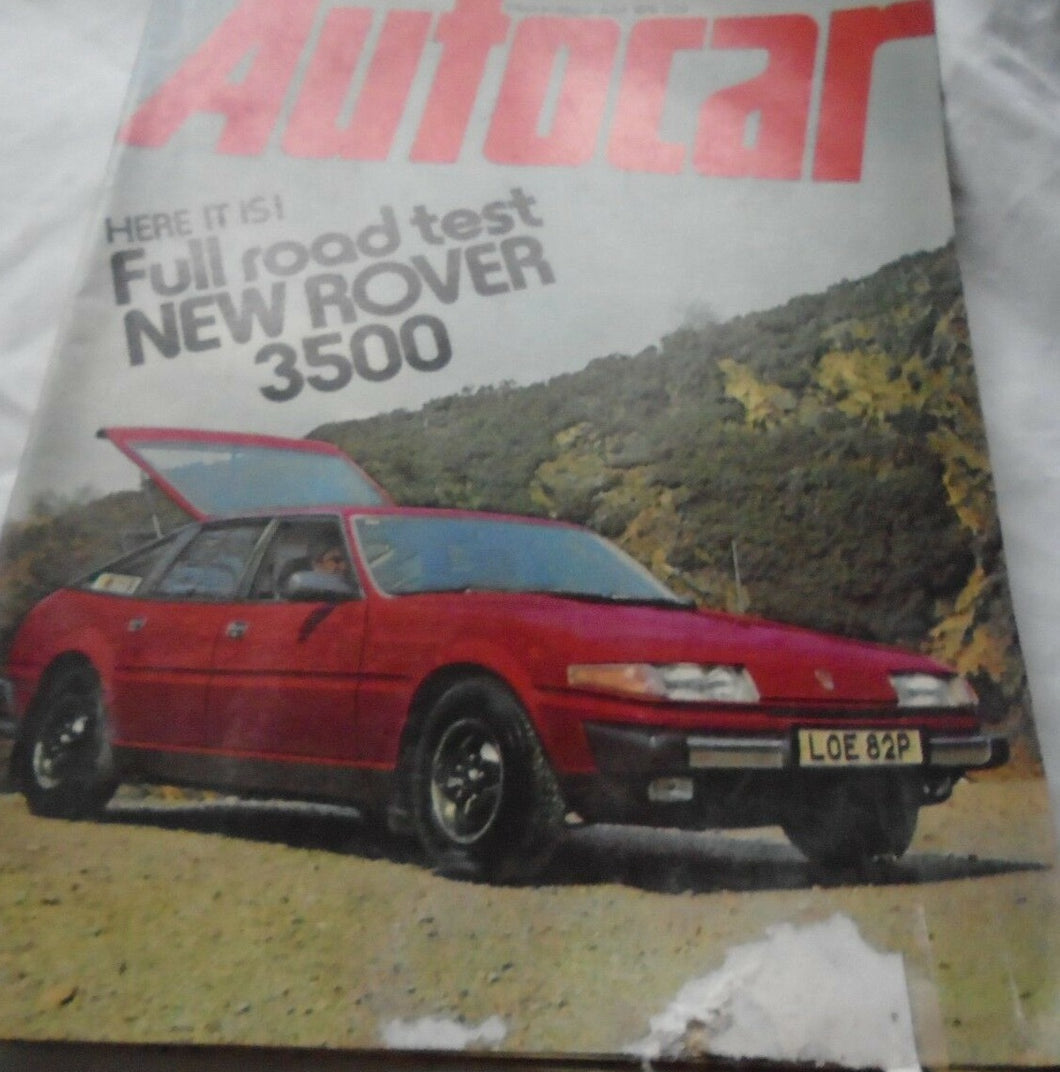AUTOCAR 31 JULY 1976 - ROVER SD1 3500 V8