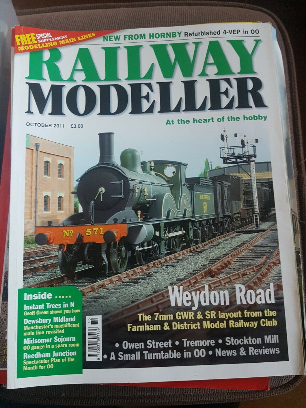 Railway modeller magazine October 2011