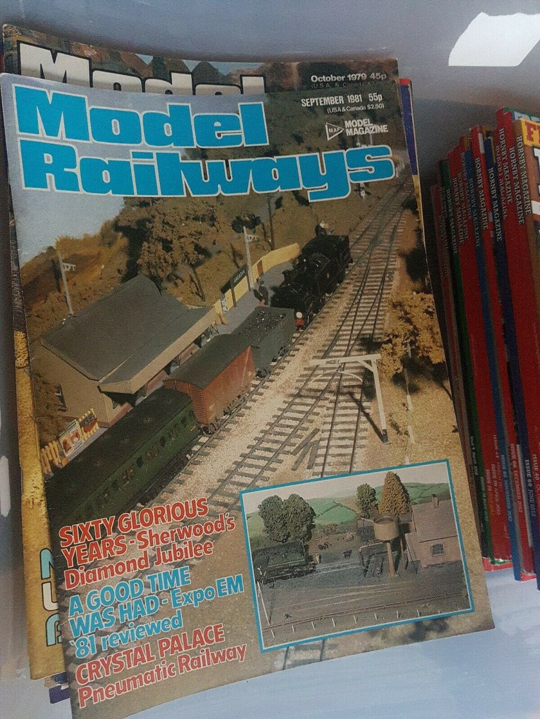 Model Railways Magazine - September 1981 VERY GOOD CONDITION.