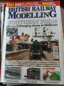BRITISH RAILWAY MODELLING Magazine December 2010