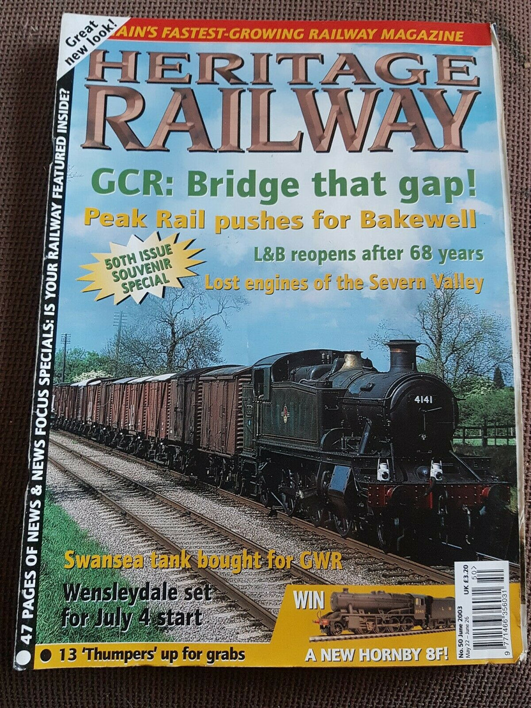 Heritage Railway Magazine No 50 June 2003