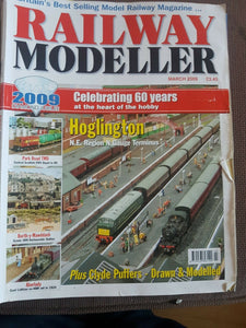 Railway modeller magazine March 2009 has a tear on the cover.