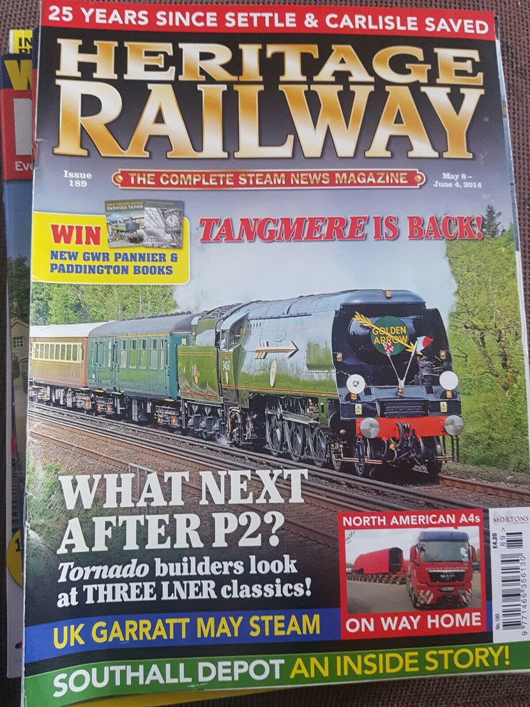 Heritage railway May May and June 2014