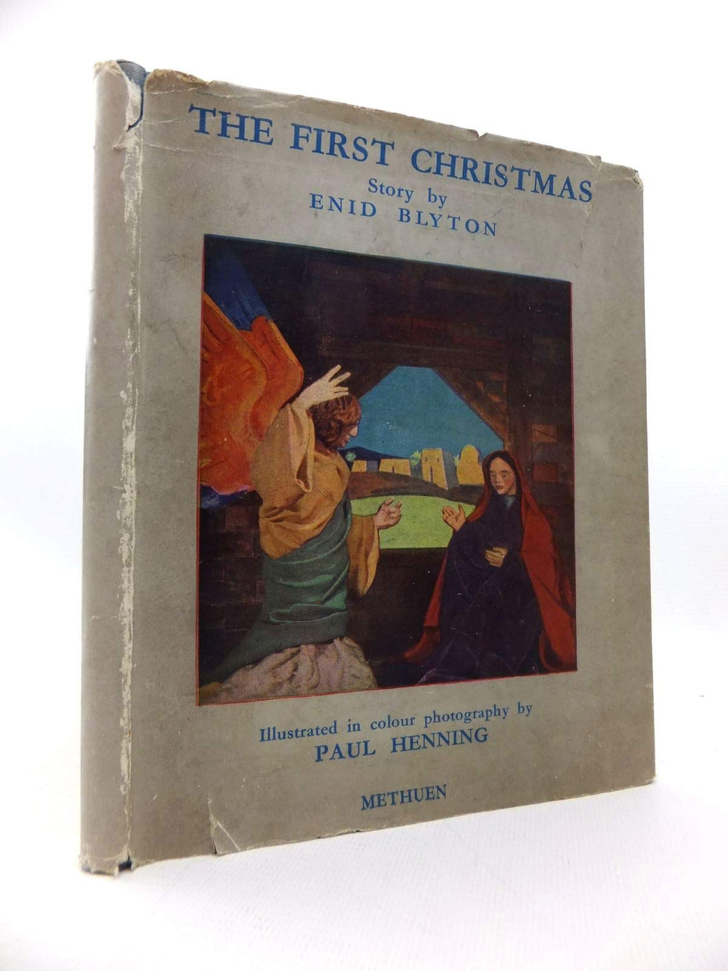 THE FIRST CHRISTMAS. [Hardcover] Blyton, Enid.