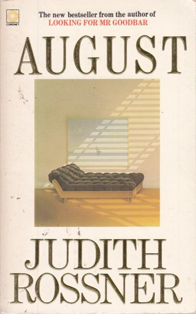 August (Coronet Books) Rossner, Judith