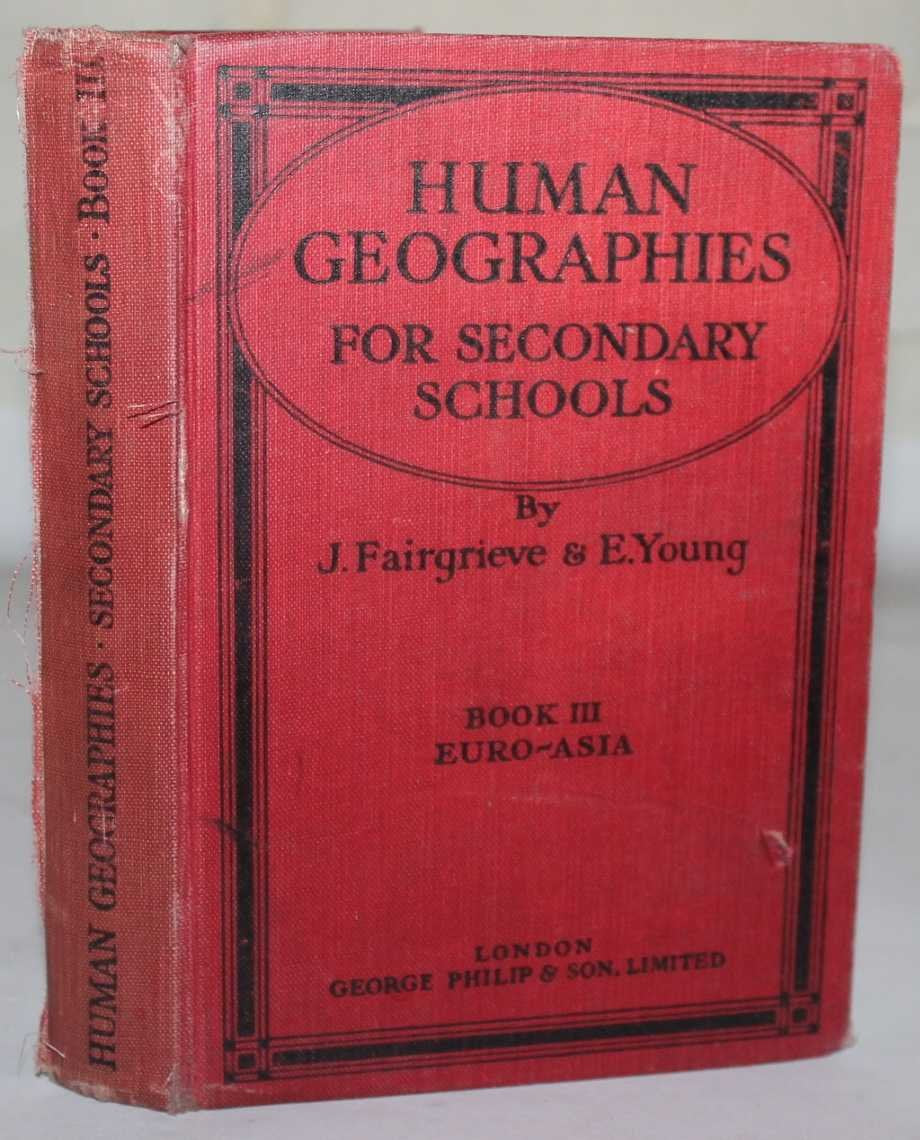 Human Geographies for Secondary School : Book III Euro-Asia [Hardcover] Fairgrieve, J. And Young, E.