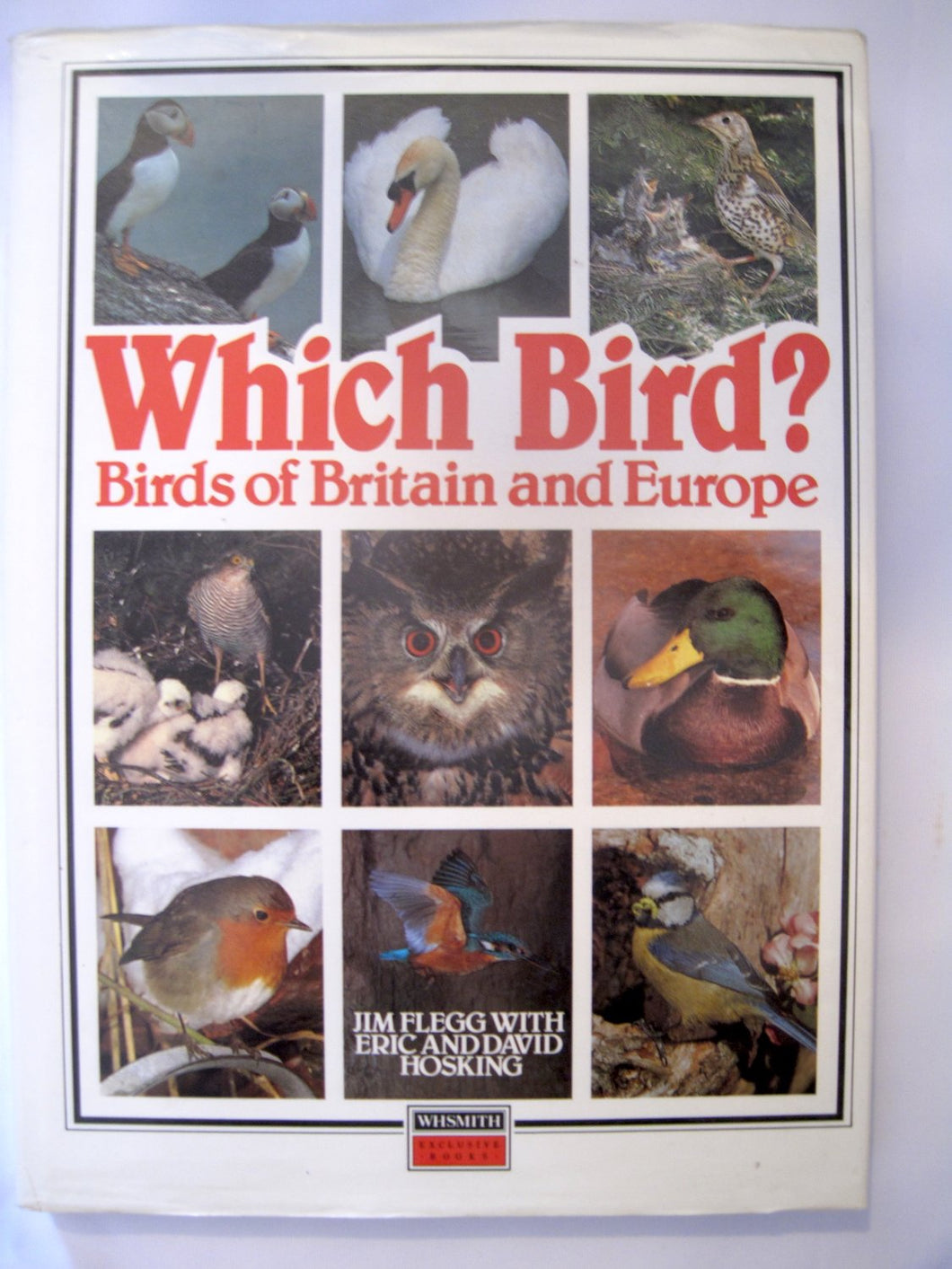 Which Bird - Birds of Britain and Europe [Hardcover] Flegg, Jim and Eric and David Hosking; Arthur Singer