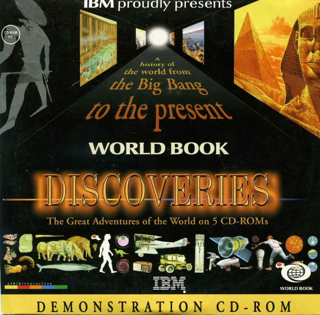 World Book Discoveries: A History of the World from the Big Bang to the Present
