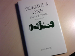 formula one facts and trivia [Hardcover] john white176 and martin corteel