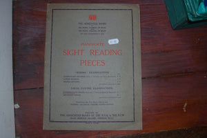 Pianoforte Sight Reading Pieces, etc Associated Board of the Royal Schools of Music