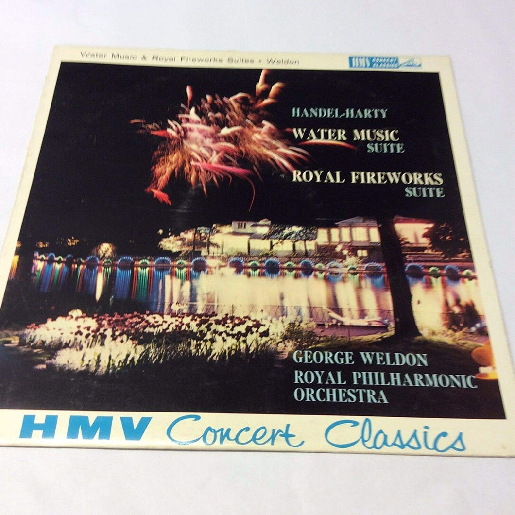 Handel-Harty Water Music Suite / Royal Fireworks Suite [Vinyl] The Royal Philharmonic Orchestra and George Weldon