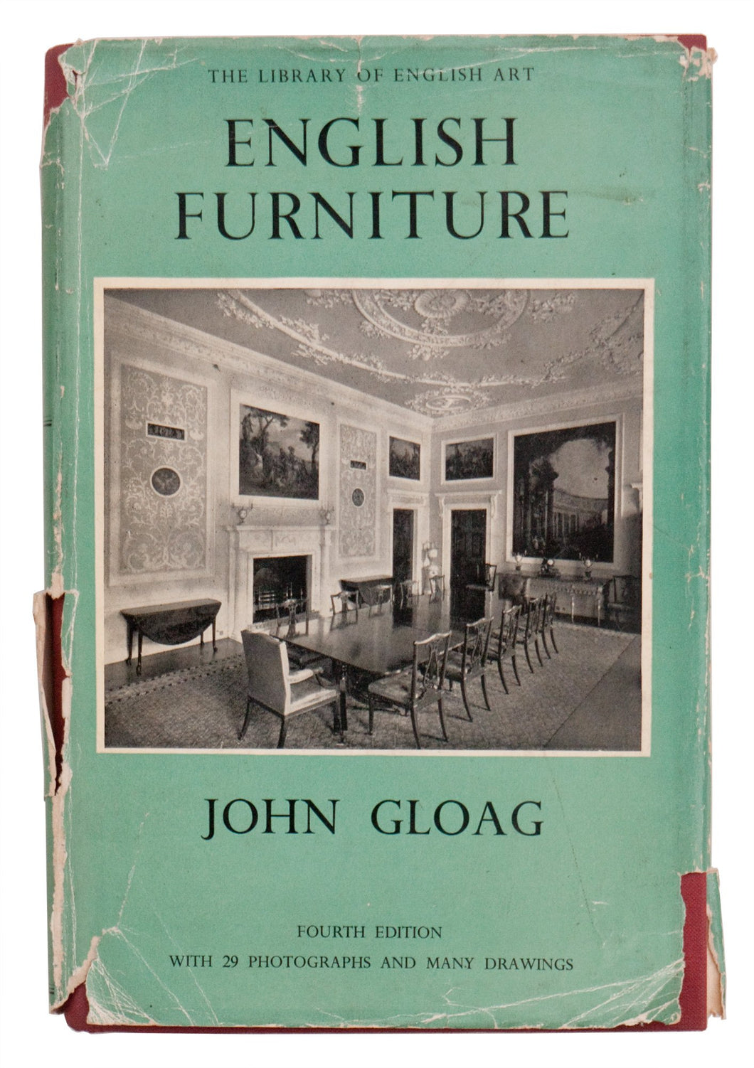 English Furniture; The Library of English Art series, [Hardcover] GLOAG (John)