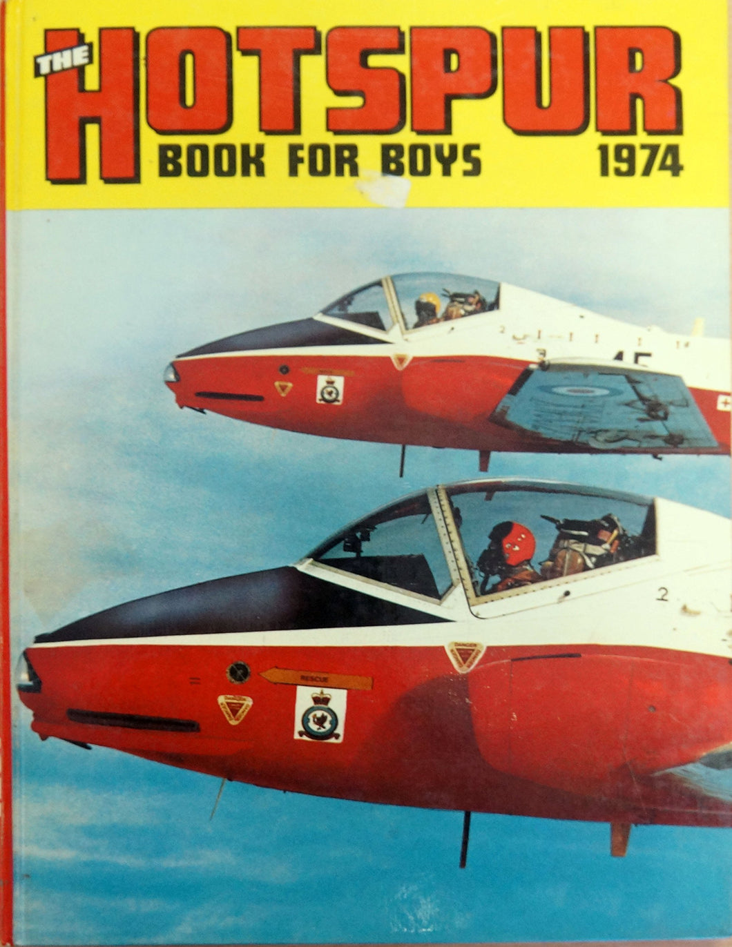 HOTSPUR BOOK FOR BOYS 1974 ( ANNUAL ) [Hardcover] various