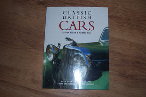 Classic British Cars [Paperback] Robson, Graham & Ware, Michael