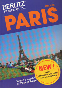 Berlitz Travel Guide to Paris (Berlitz Travel Guides) Berlitz Guides