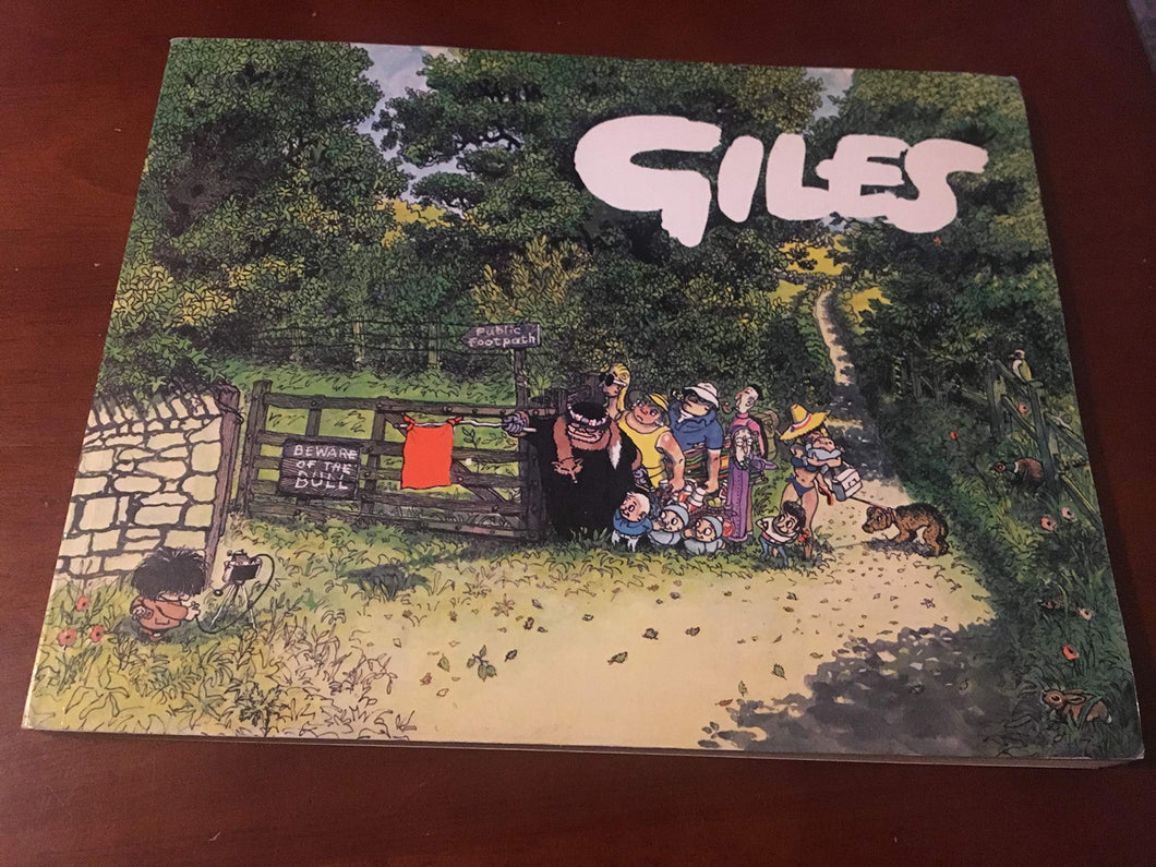 Giles Cartoons - Thirty-Third Series (33rd) [Paperback] Giles and Illustrated by Giles
