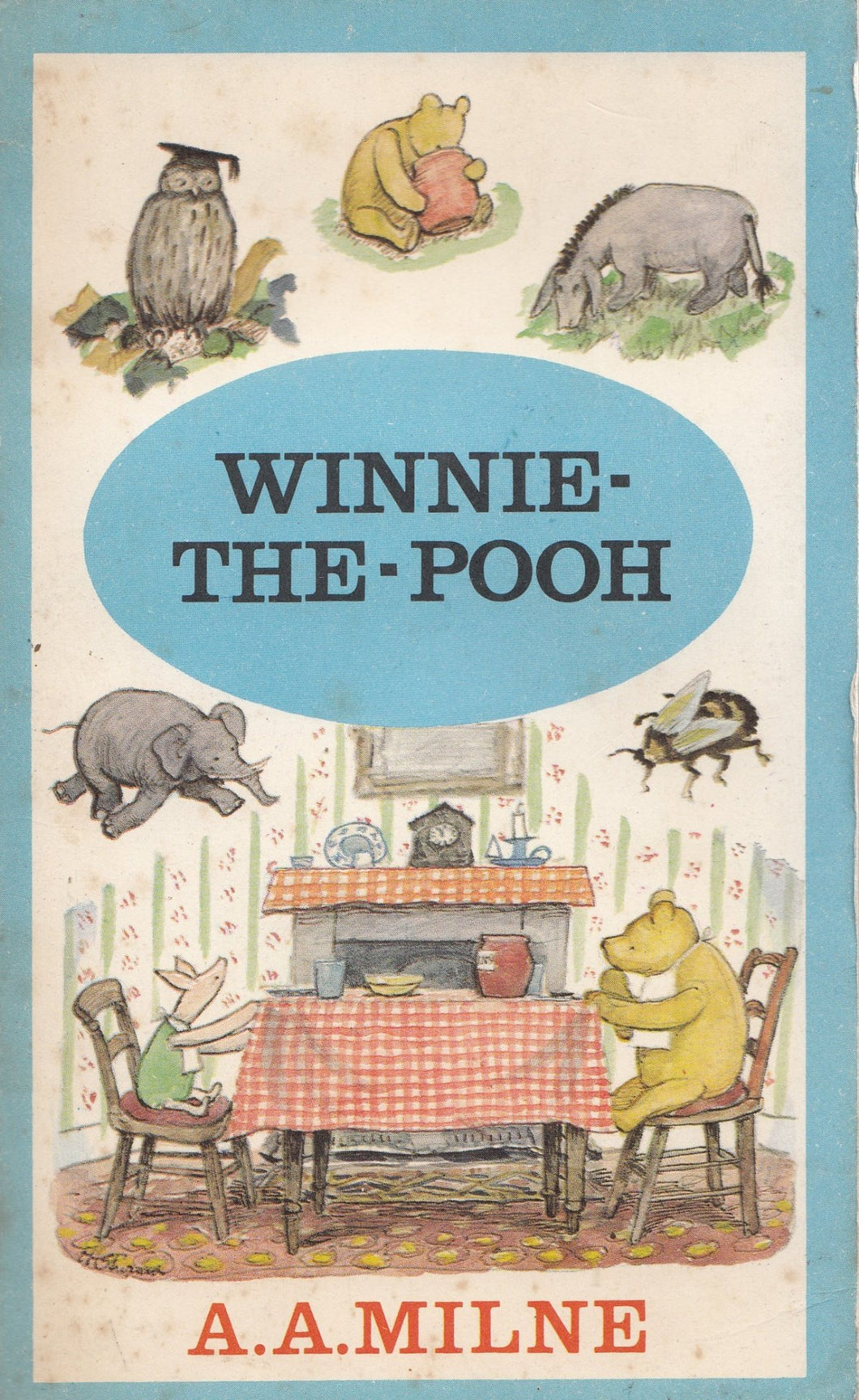 Winnie the Pooh [Mass Market Paperback] A.A.milne