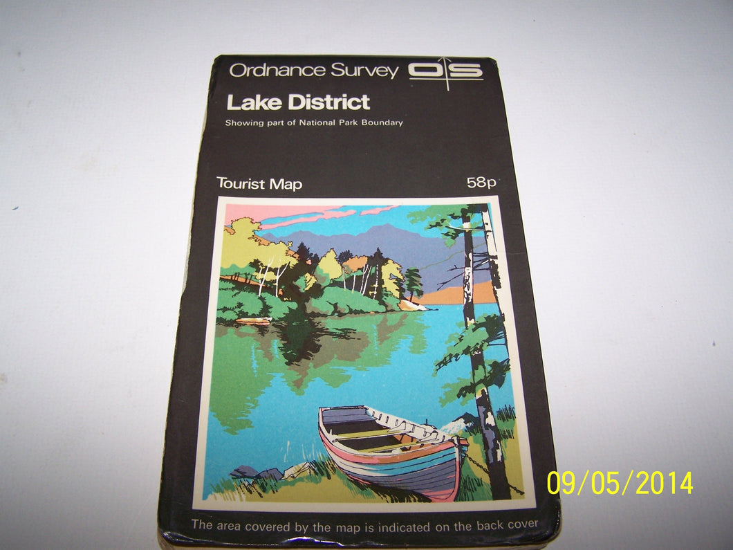 Ordnance Survey - Lake District [Map] Ordnance Survey