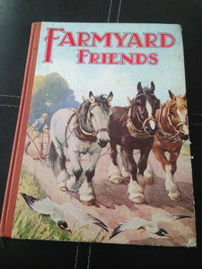 Farmyard Friends. Illustrated by A. E. Kennedy, etc [Unknown Binding]