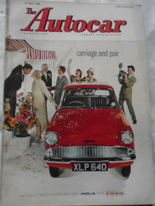 AUTOCAR 27 MAY 1960 - CARRIAGE AND PAIR - ANGLIA  - SITES AND SIGHTS