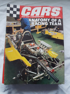 Cars and car conversions May 1979 anatomy of a racing team