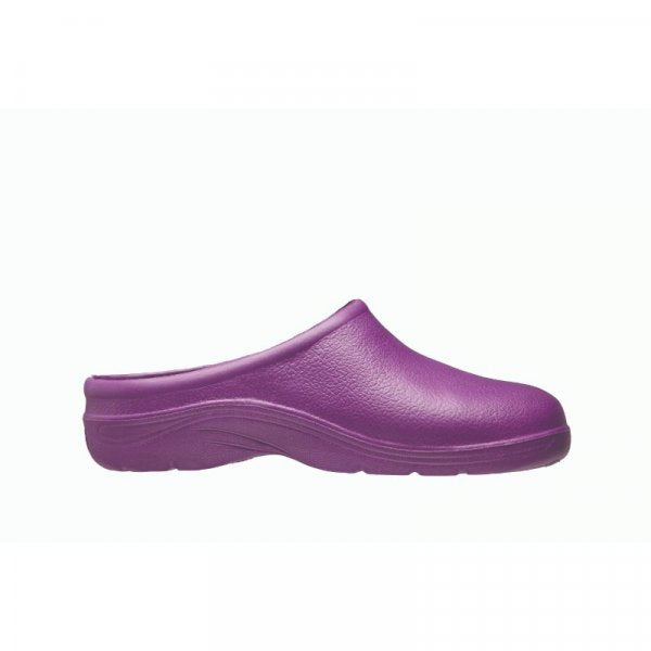 Briers Comfi Garden Clogs Lilac, Purple, Lavender  - (WITHOUT Removable Fleece Lining) - Sizes 4, 5, 6, 7, 8