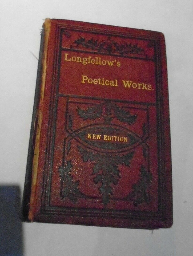 Longfellow's Poetical Works New Edition The Thistle Series Dunn & Wright Glasgow