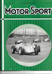 Motor Sport, Motorsport, Magazine, Vol XXXVI June 1960, Very Good Condition
