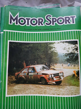 Load image into Gallery viewer, Motorsport January 1977, Escort Rally