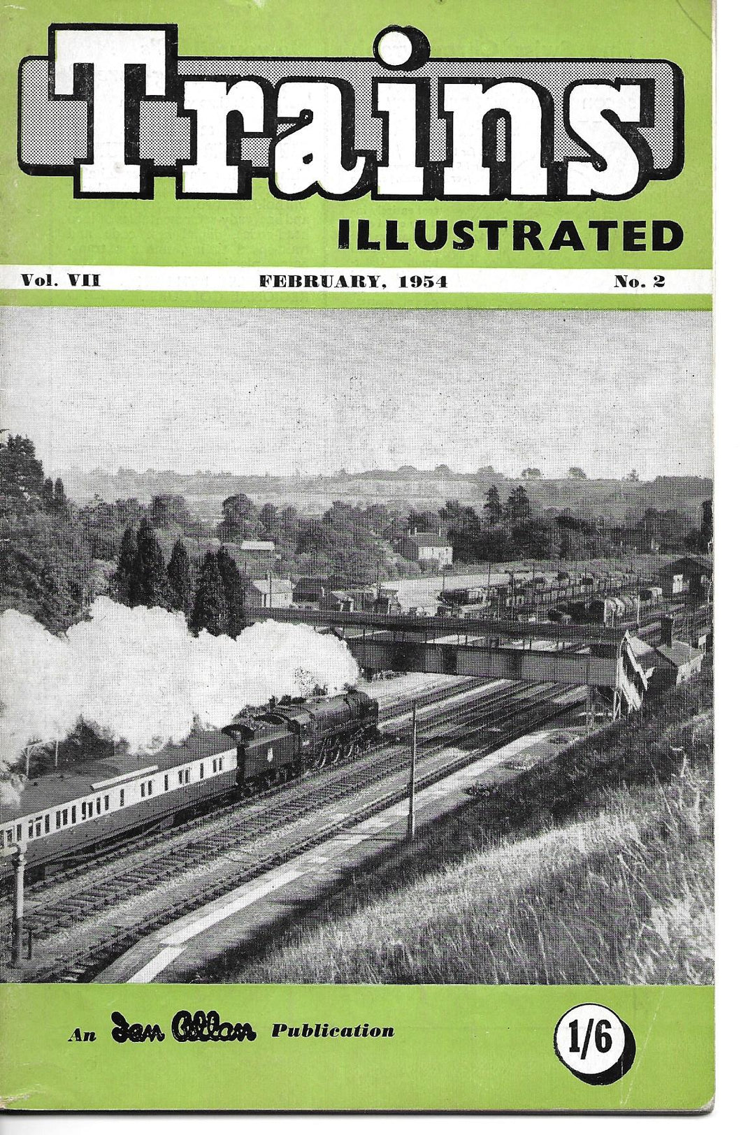 Trains Illustrated, Ian Allan, February 1954, Vol VII No 2.