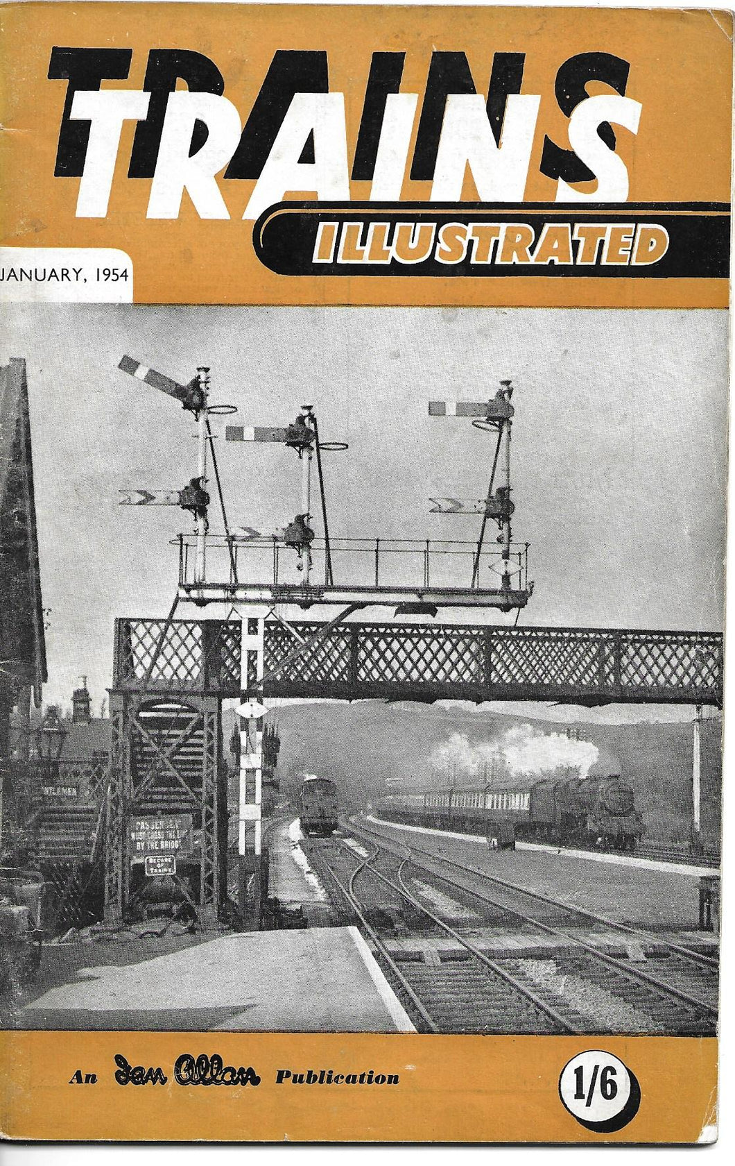 Trains Illustrated, Ian Allan, January  1954, Vol VII No 1.