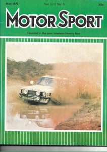 Motor Sport Vol LIII No 5 May 1977