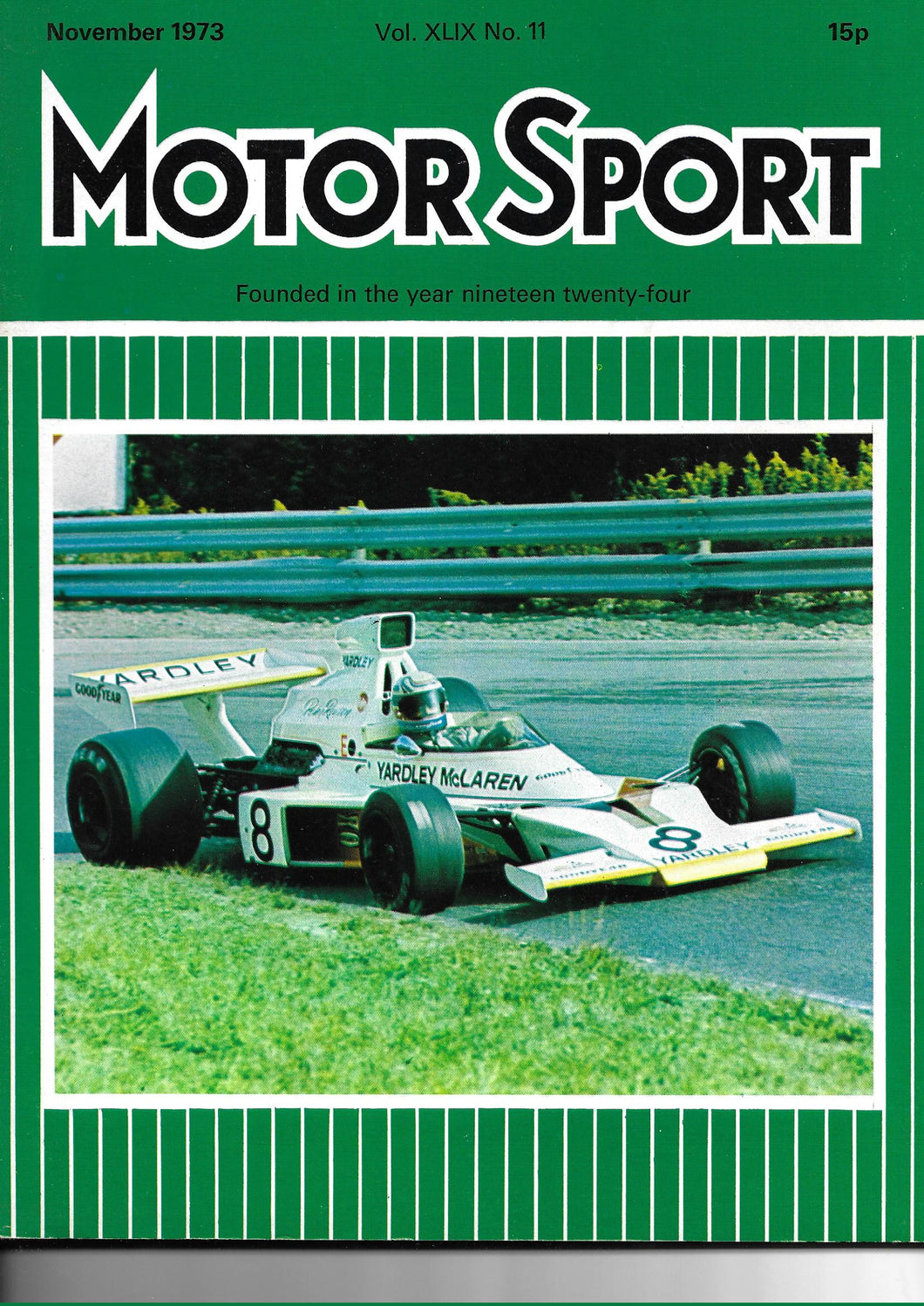 Motor Sport Magazine Vol XLIX No 11 November 1973
