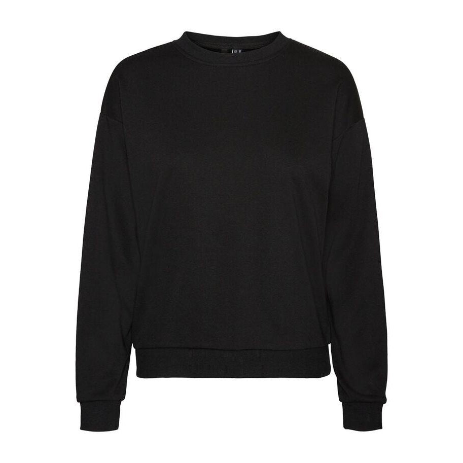 Vero Moda Natalia Oversized Sweat Sort Genser Dame